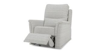 Bronte Fabric B Handbediende recliner stoel