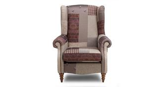 Bronte Patch Wing Chair