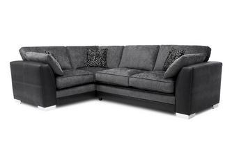 Formal Back Right Hand Facing 3 Seater Corner Sofa