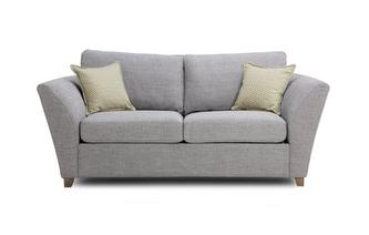 Large 2 Seater Formal Back Sofa Bed