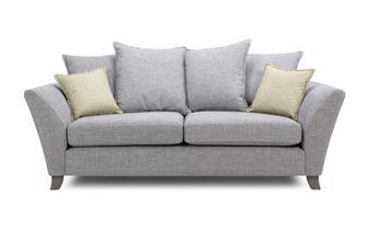 3 Seater Pillow Back Sofa Burlington