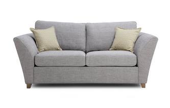 Large 2 Seater Formal Back Sofa Bed Burlington