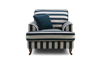 Harbour-Coastal-Stripe Armchair