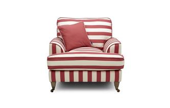 Pleasant Burnham Harbour Stripe Armchair Home Interior And Landscaping Dextoversignezvosmurscom