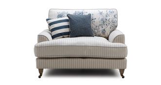 Burnham Stripe Cuddler Sofa