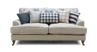 Burnham Stripe 3 Seater Sofa
