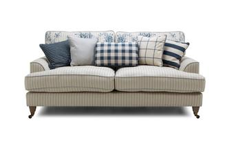 Stripe 3 Seater Sofa Burnham Stripe