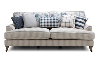 Stripe 4 Seater Sofa