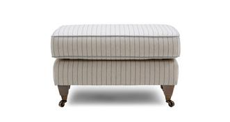 Burnham Stripe Footstool
