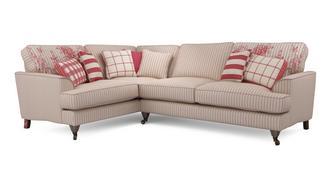 Burnham Stripe Right Hand Facing 3 Seater Corner Sofa