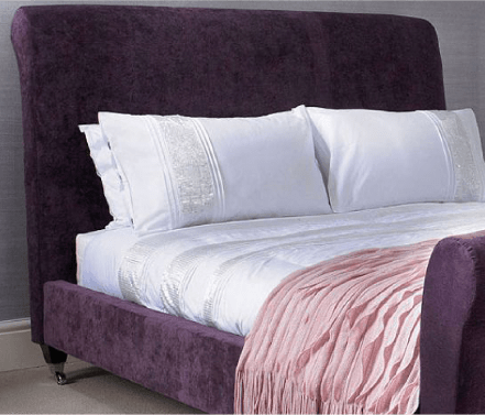 Our upholstered beds come in a range of fabrics and colours. Take a look.