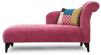 pink chaise longue