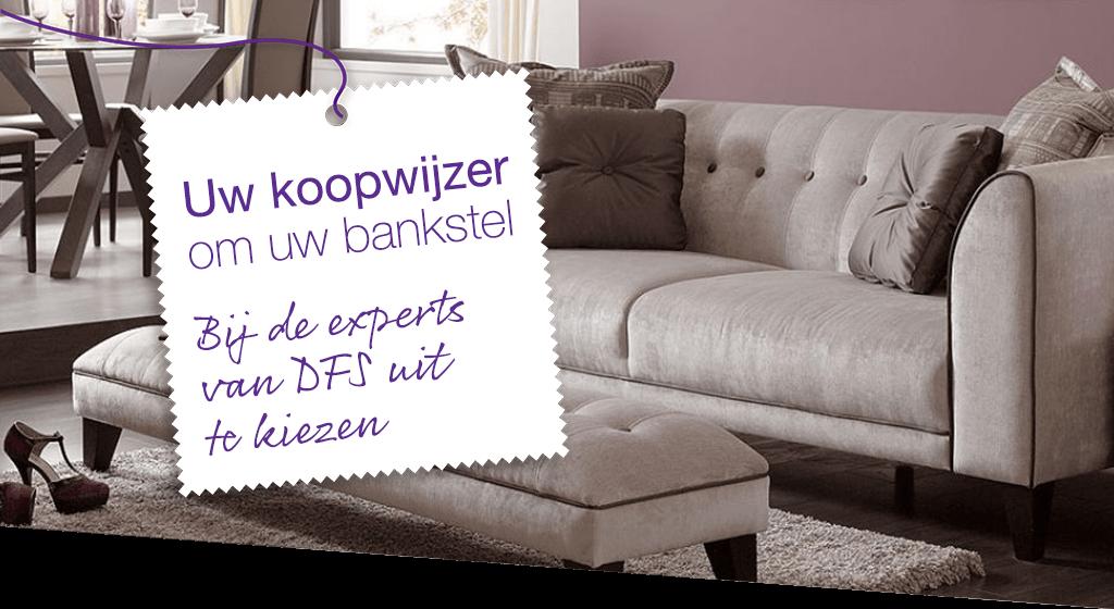 Uw koopwijzer om uw bankstel bij de experts van DFS uit te kiezen