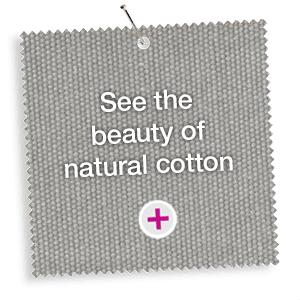 See the beauty of natural cotton