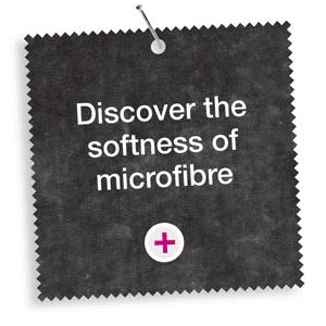 Discover the softness of microfibre
