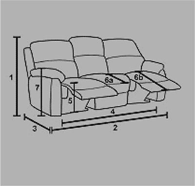 Recliner Sofa Icon