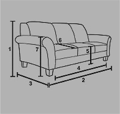 two seater sofa icon