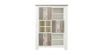 Cabrilo Cabinet with 3 Doors & 8 Niches