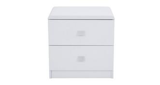 Caden 2 Drawer Bedside