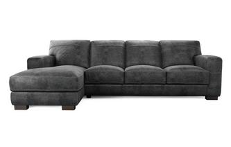 Caesar Large Left Hand Facing Chaise End Sofa Outback