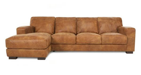 Caesar Large Left Hand Facing Chaise End Sofa