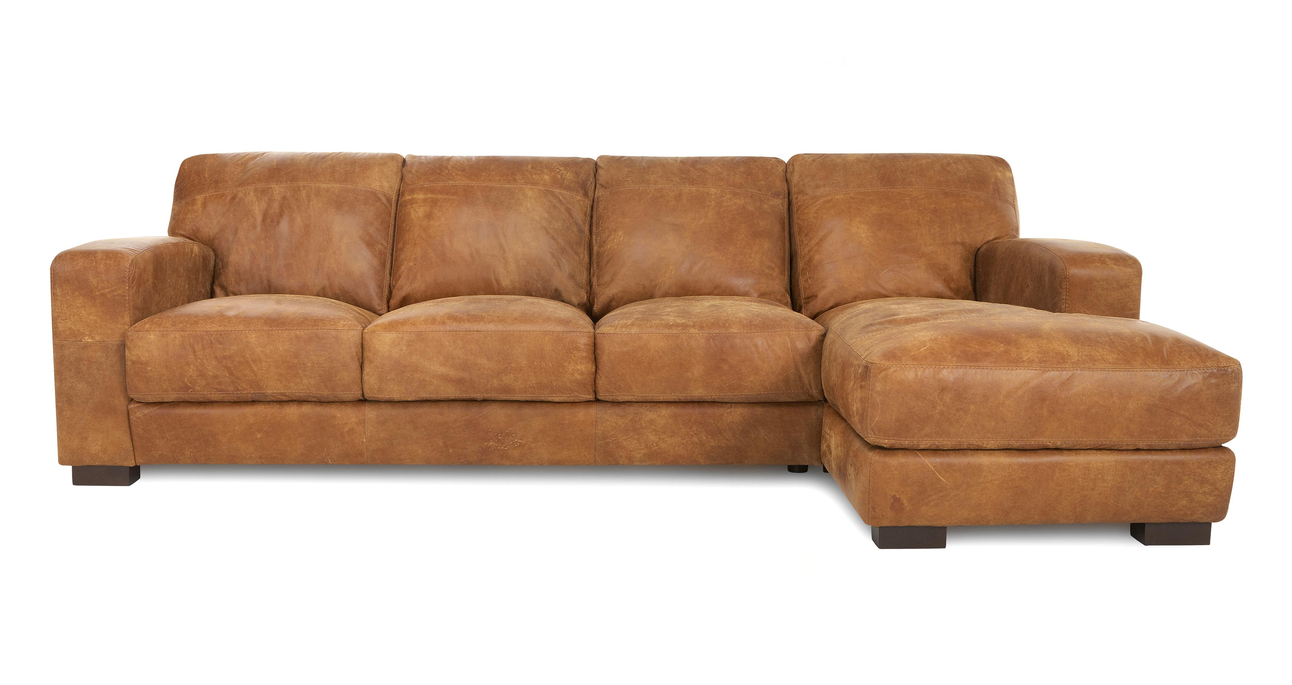 Caesar large right hand facing chaise end sofa outback dfs for Chaise end sofas