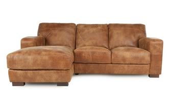 Left Hand Facing 3 Seater Chaise End Sofa Outback