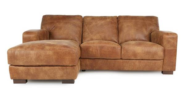 Caesar Left Hand Facing 3 Seater Chaise End Sofa