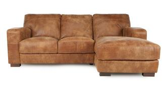 Caesar Right Hand Facing 3 Seater Chaise End Sofa