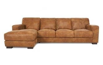Linkszijdige grote Chaise end bank  Outback