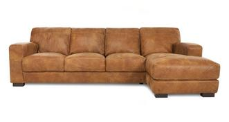 Caesar Right Hand Facing Large Chaise End Sofa
