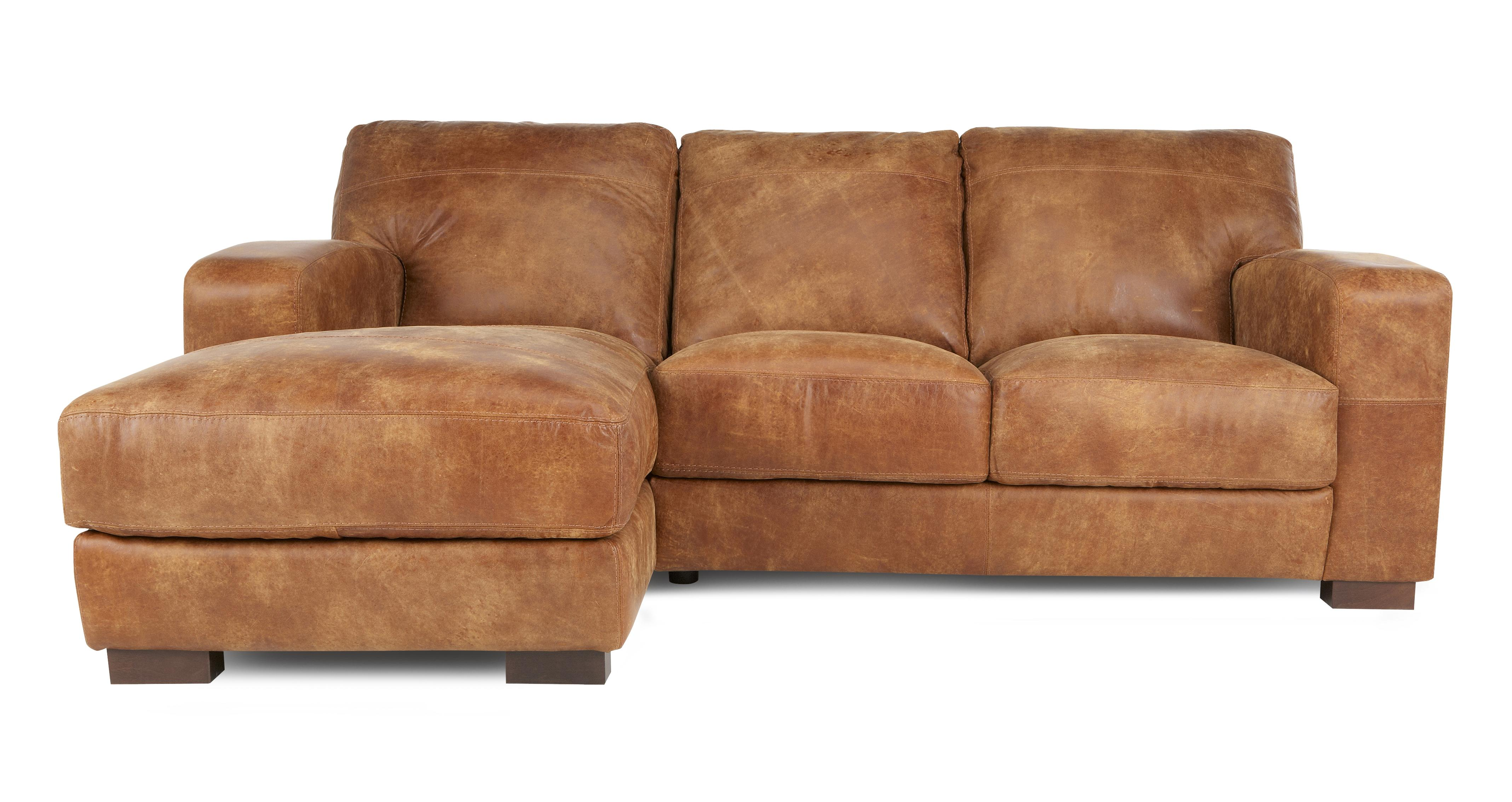 Caesar Clearance Left Hand Facing 3 Seater Chaise End Sofa Outback