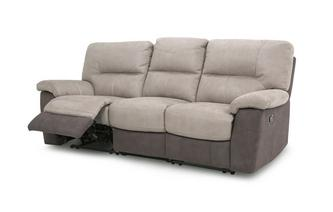 3-zitter handbediende recliner