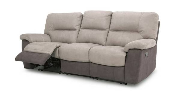 Caldbeck 3 Seater Manual Recliner