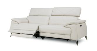 Caldo 3 Seater Power Plus Recliner