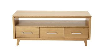 Camber TV Unit 3 Drawer 1 Shelf