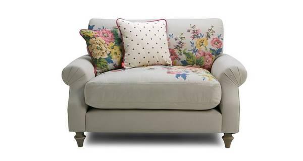 Cambridge Cotton Cuddler Sofa