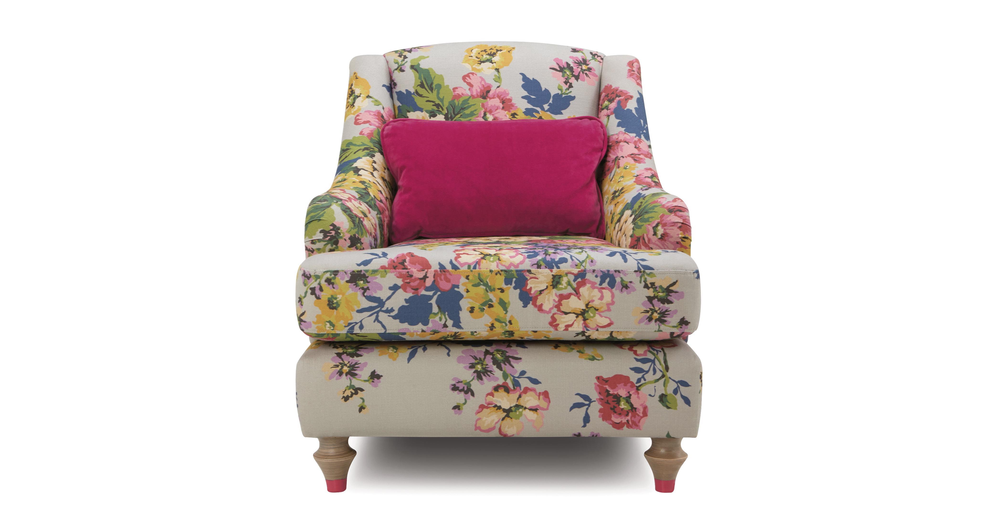 36 0 °  sc 1 st  DFS & Cambridge Cotton Accent Chair Cambridge Floral Cotton | DFS Ireland