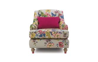 Cotton Accent Chair Cambridge Floral Cotton