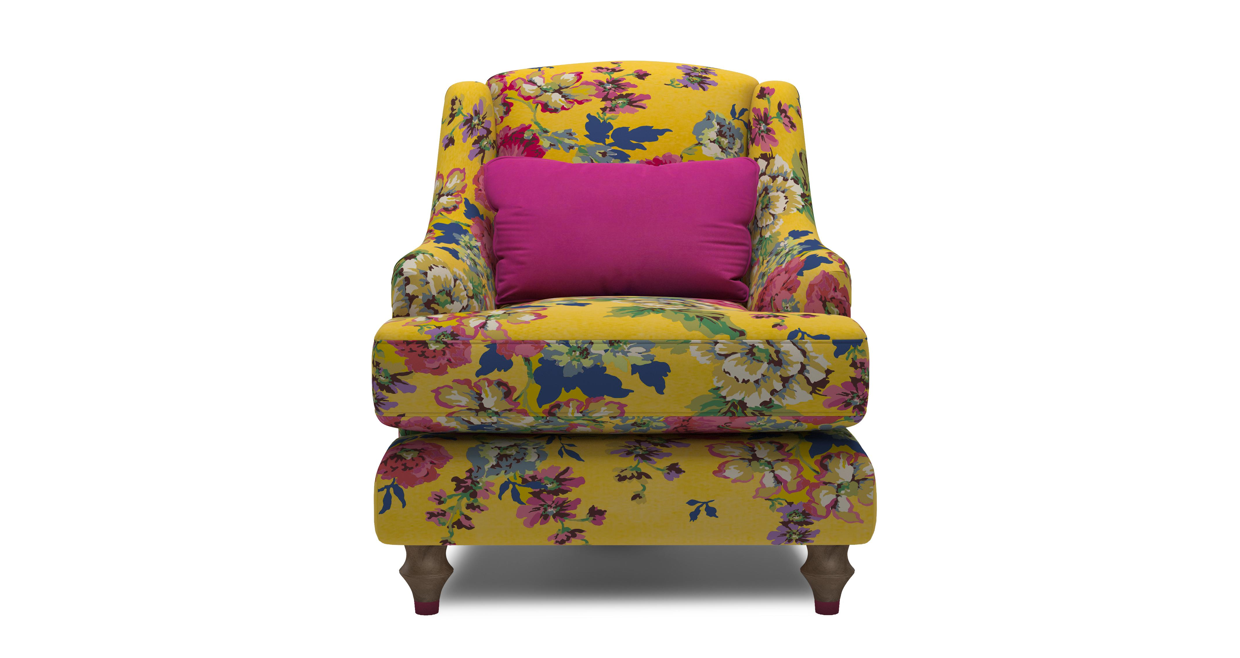 Cambridge Velvet Accent Chair Cambridge Floral Velvet Dfs Ireland