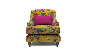 Velvet Accent Chair Cambridge Floral Velvet