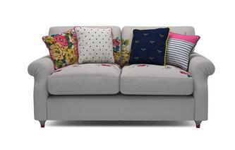 Cotton 2 Seater Supreme Sofa Bed Cambridge Plain and Floral Cotton