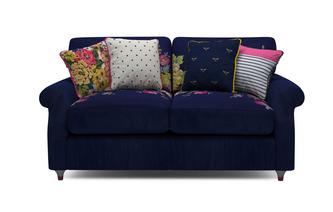 Cambridge Velvet 2 Seater Supreme Sofa Bed Cambridge Plain and Floral Velvet