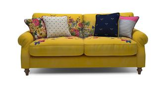 Cambridge Velvet 3 Seater Sofa