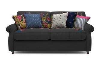 Cambridge Cotton 3 Seater Supreme Sofa Bed Cambridge Plain and Floral Cotton