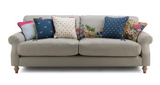 Cambridge Cotton 4 Seater Sofa