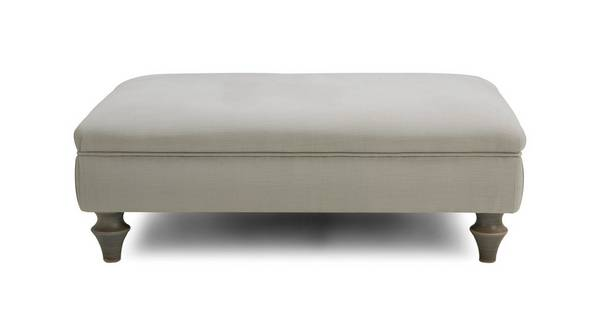 Cambridge Cotton Footstool