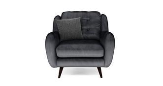 Camden Velvet Armchair