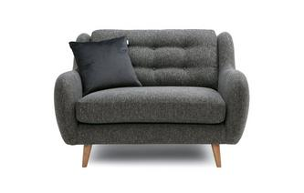 Plain Cuddler Sofa Camden Plain