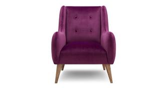 Camden Velvet Accent Chair